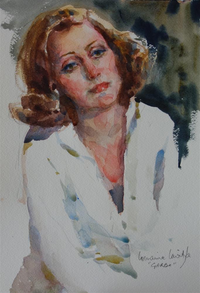 """""""Movie Star"""" original fine art by Lorraine Lewitzka"""