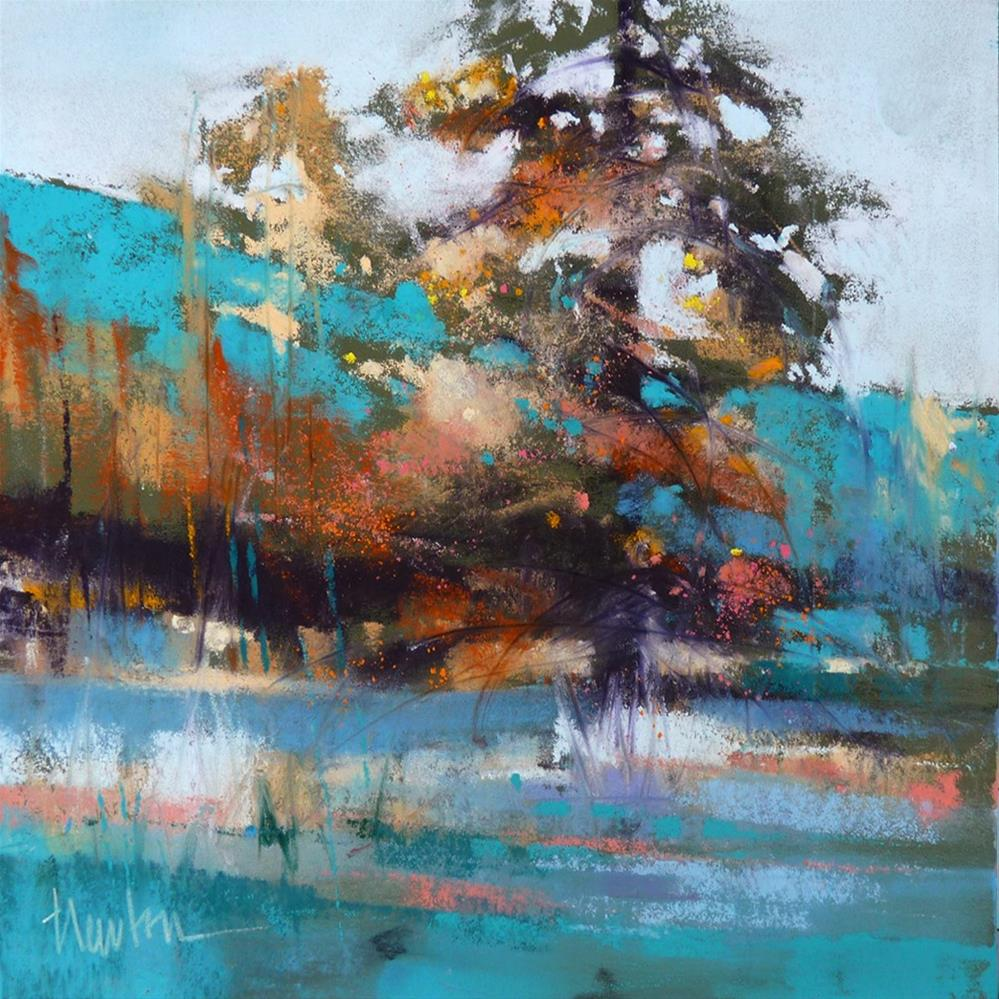 """Leavenworth Pine"" original fine art by Barbara Benedetti Newton"