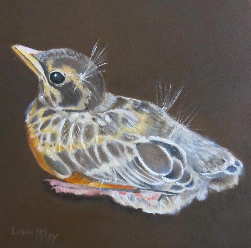 """I Believe I Can Fly"" original fine art by Linda McCoy"