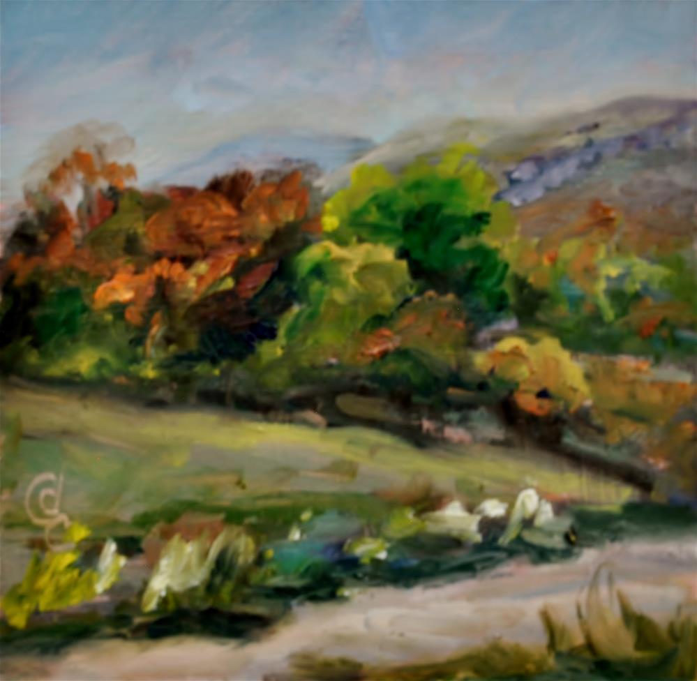 """Fall Colors"" original fine art by Catherine Crookston"