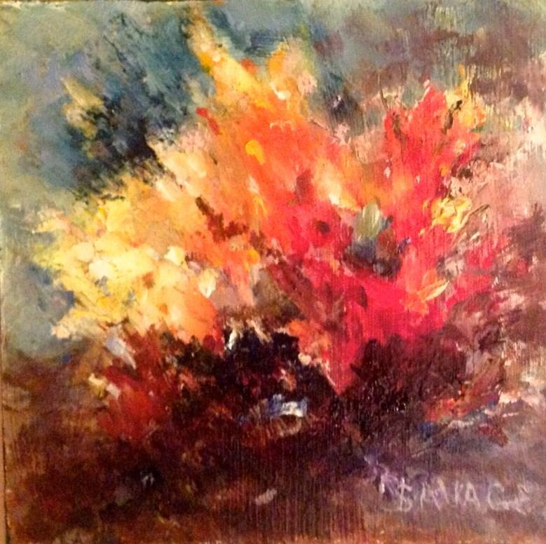 """Hot"" original fine art by Judy Usavage"
