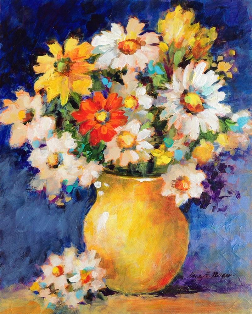 """Sunshine Bouquet"" original fine art by Nancy F. Morgan"