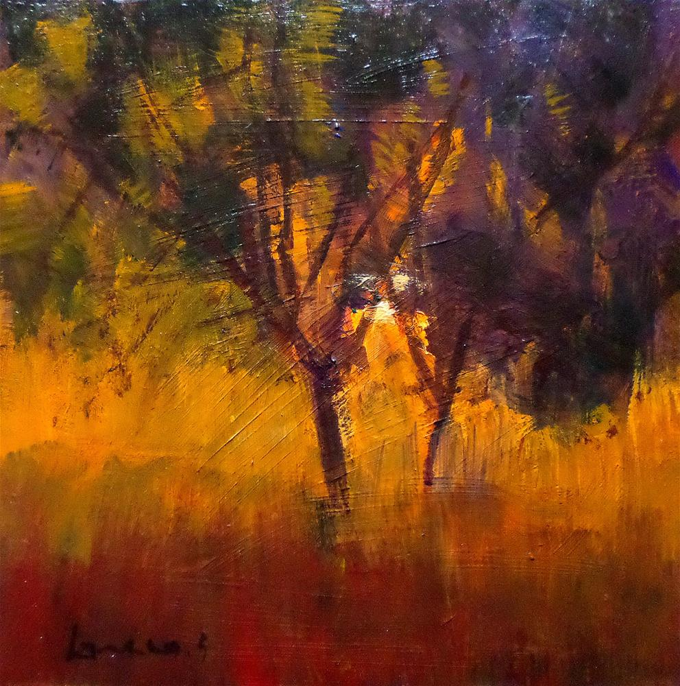 """Dusk"" original fine art by salvatore greco"