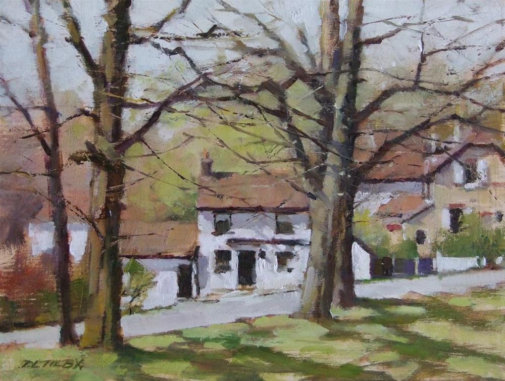 """""""Ramblers Rest Pub"""" original fine art by Deborah Tilby"""