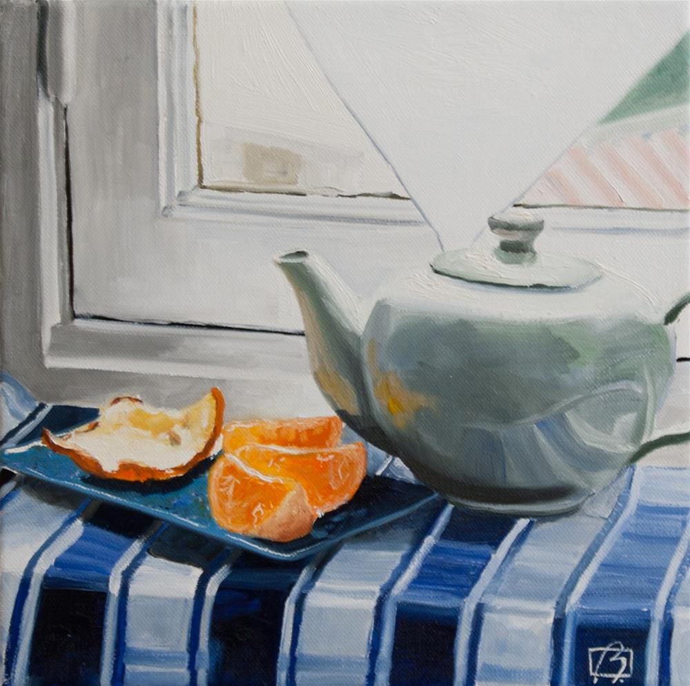 """Orange Pekoe Tea"" original fine art by Andre Beaulieu"
