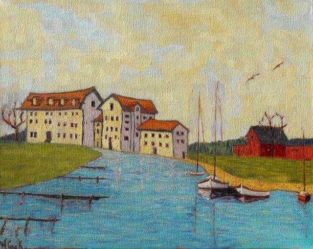 """""""Denmark"""" original fine art by William Cook"""