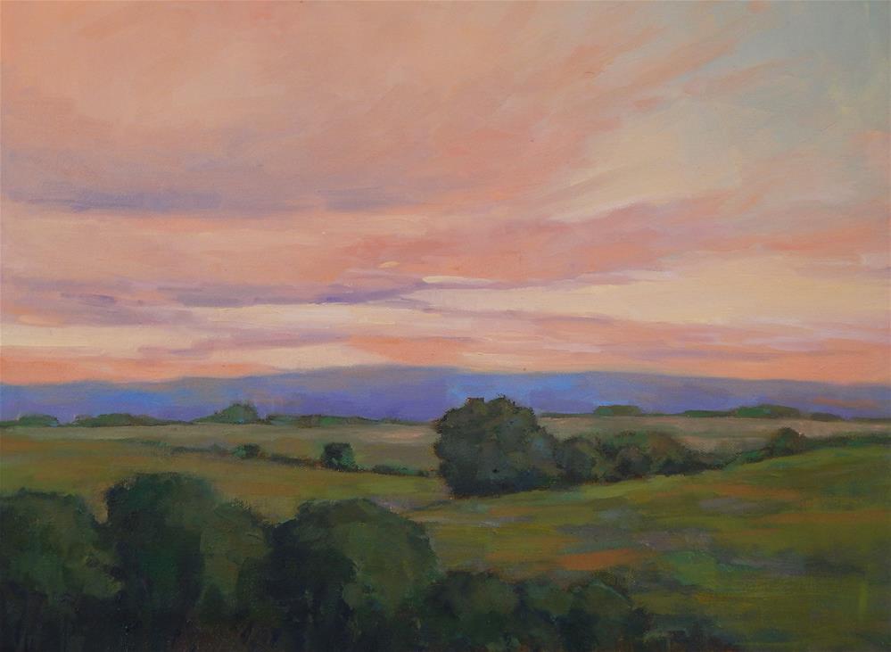 """The Painted Sky"" original fine art by Lisa Kyle"