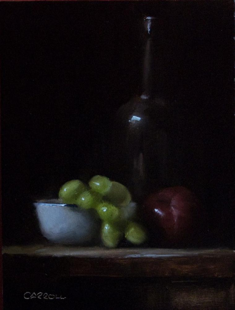 """""""Green Grapes"""" original fine art by Neil Carroll"""
