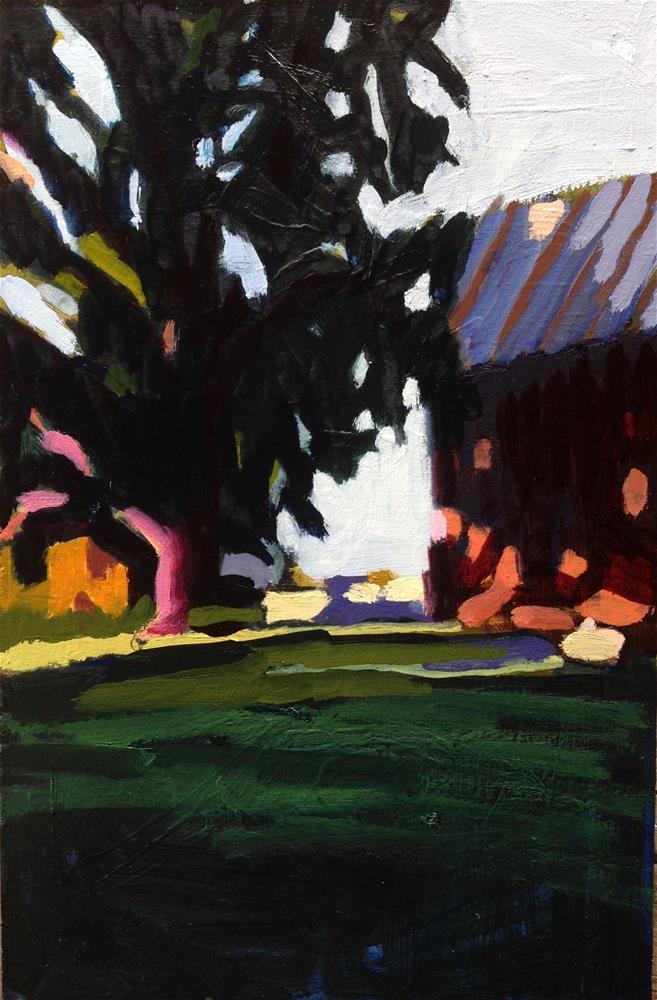 """My Friend Moved To A Farm"" original fine art by Pamela Hoffmeister"