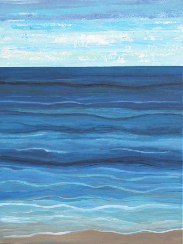 """Looking Out to Sea"" original fine art by Sage Mountain"