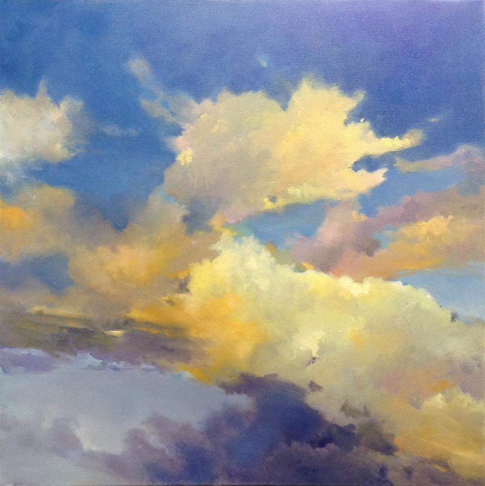 """The Sky's The Limit"" original fine art by Cathy Boyd"