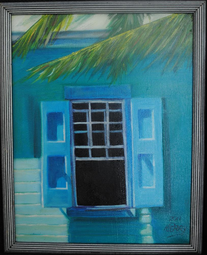 """Carribean Breeze"" original fine art by Nan Perry"