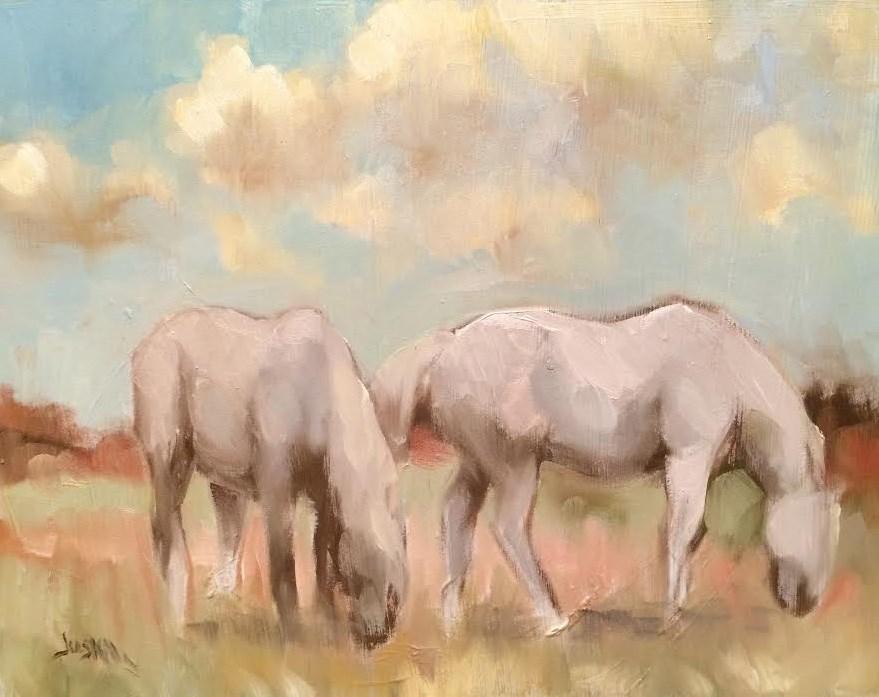 """Study in Grays"" original fine art by Elaine Juska Joseph"