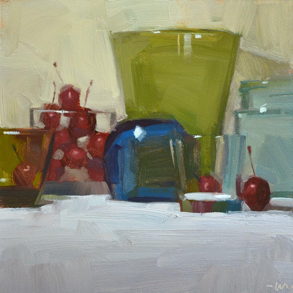 """Don't Cook Us"" original fine art by Carol Marine"