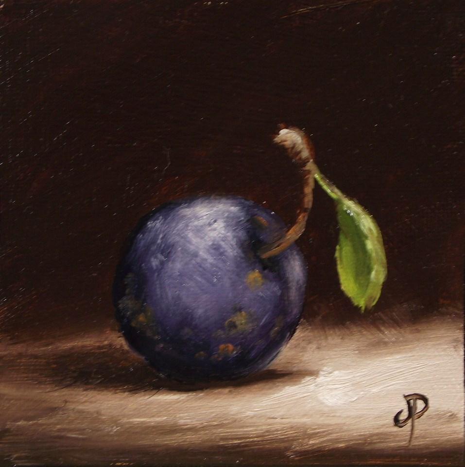 """""""Little Damson"""" original fine art by Jane Palmer"""