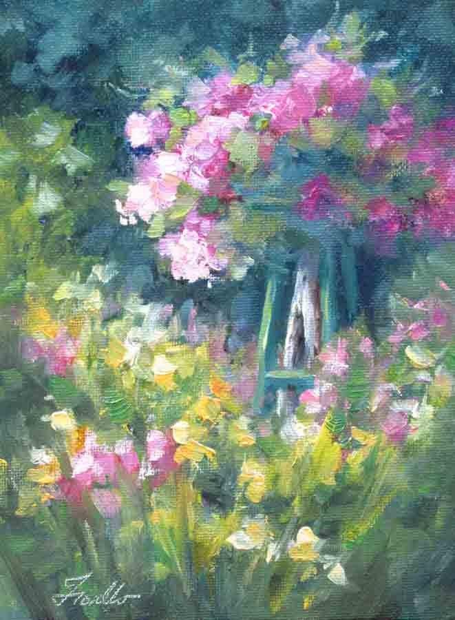 """Arbor Study"" original fine art by Pat Fiorello"