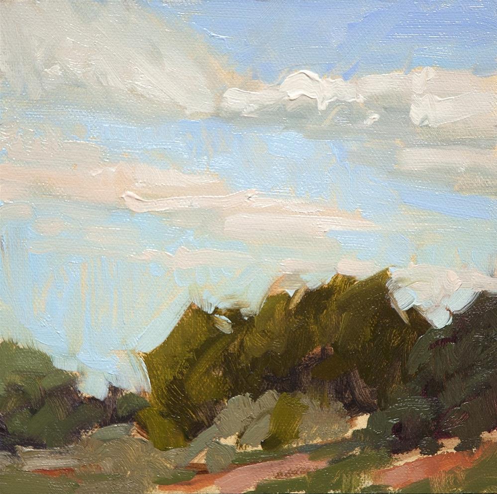 """Monica Lucero Park"" original fine art by Miriam Hill"