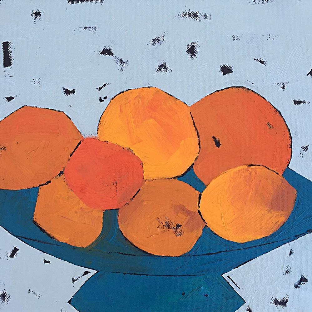 """Citrus"" original fine art by Janet Bludau"