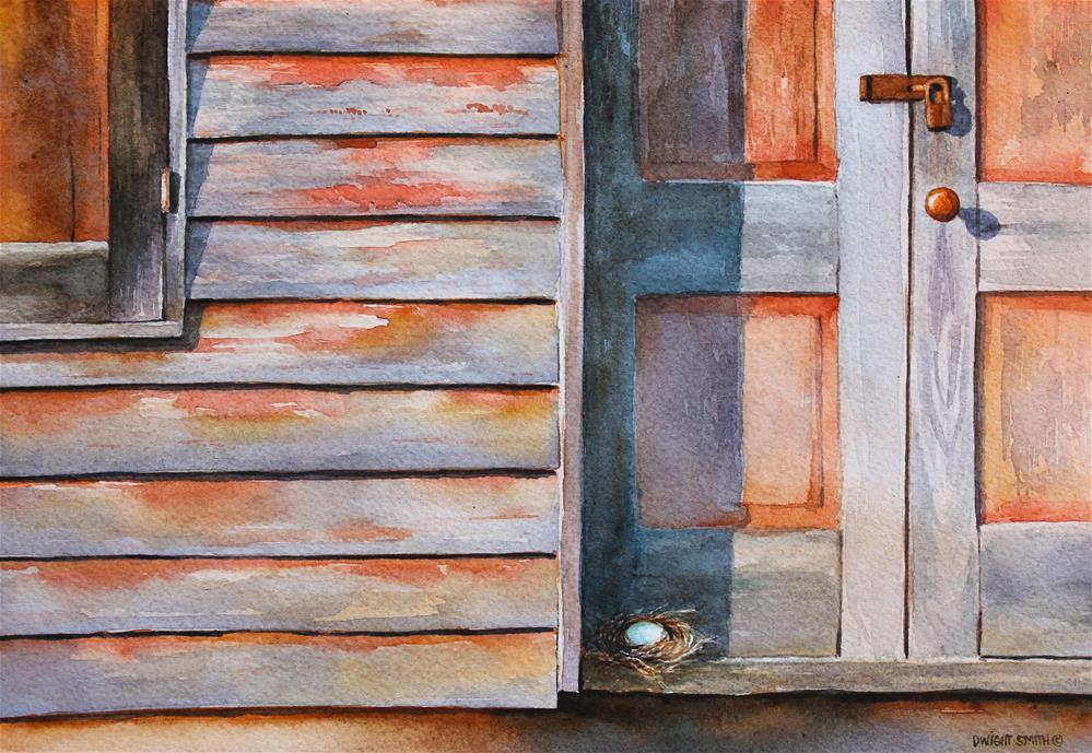 """ NOT ALLOWED "" original fine art by Dwight Smith"