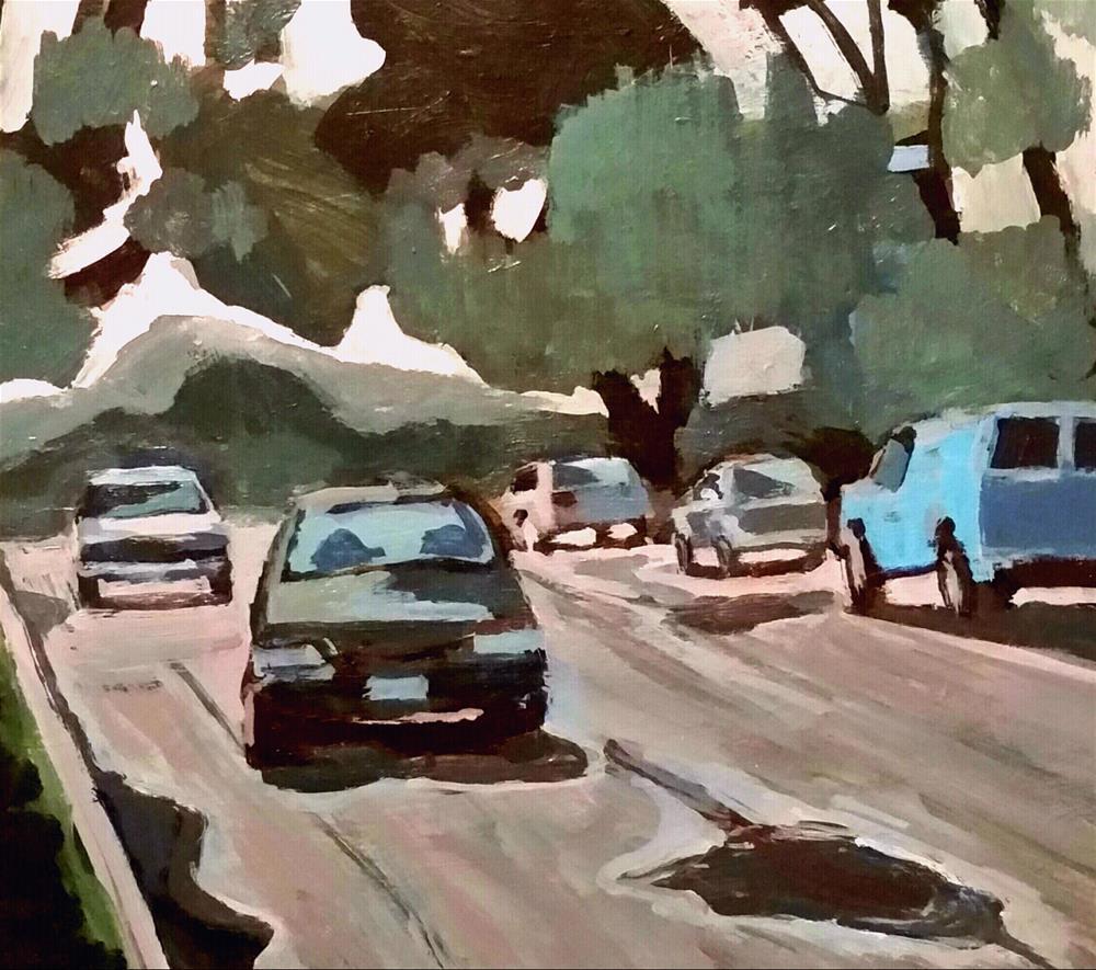 """After the Rain"" original fine art by Liz Maynes"