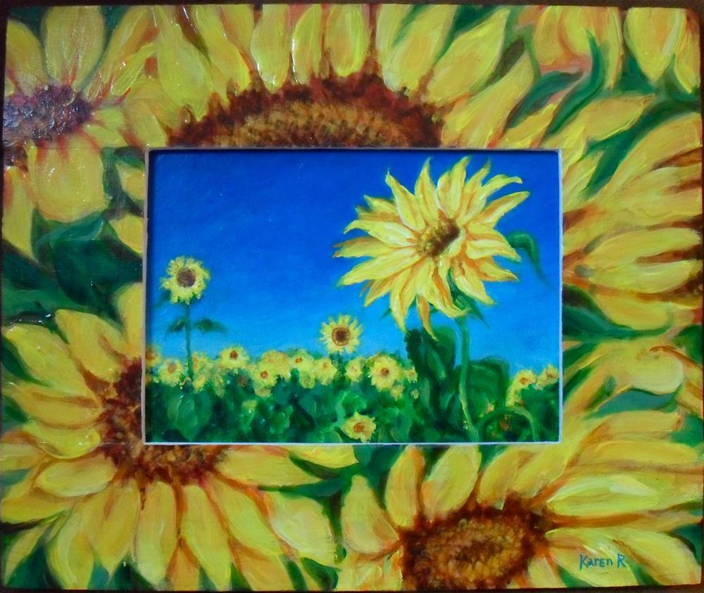 """A Closer Look"" original fine art by Karen Roncari"