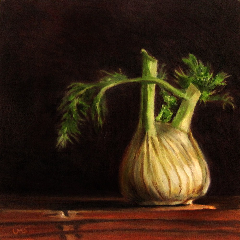 """Fennel"" original fine art by Ulrike Miesen-Schuermann"