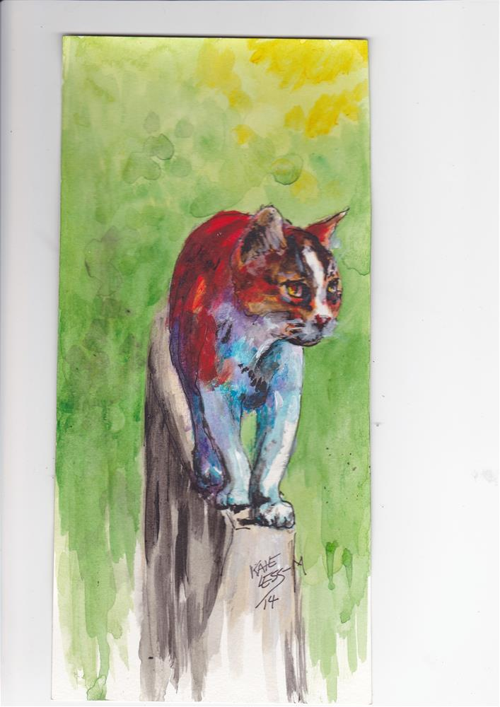 """Hunting"" original fine art by Kate Less-Madsen"