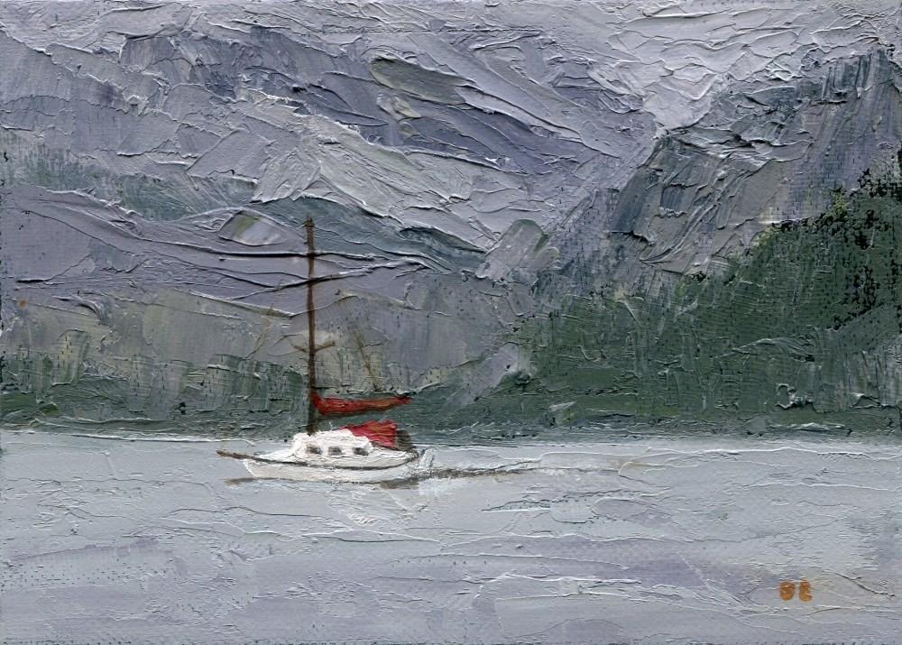 """""""Passage"""" original fine art by Stanley Epperson"""