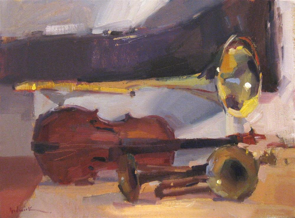 """Instrumental (sketch)"" original fine art by Sarah Sedwick"