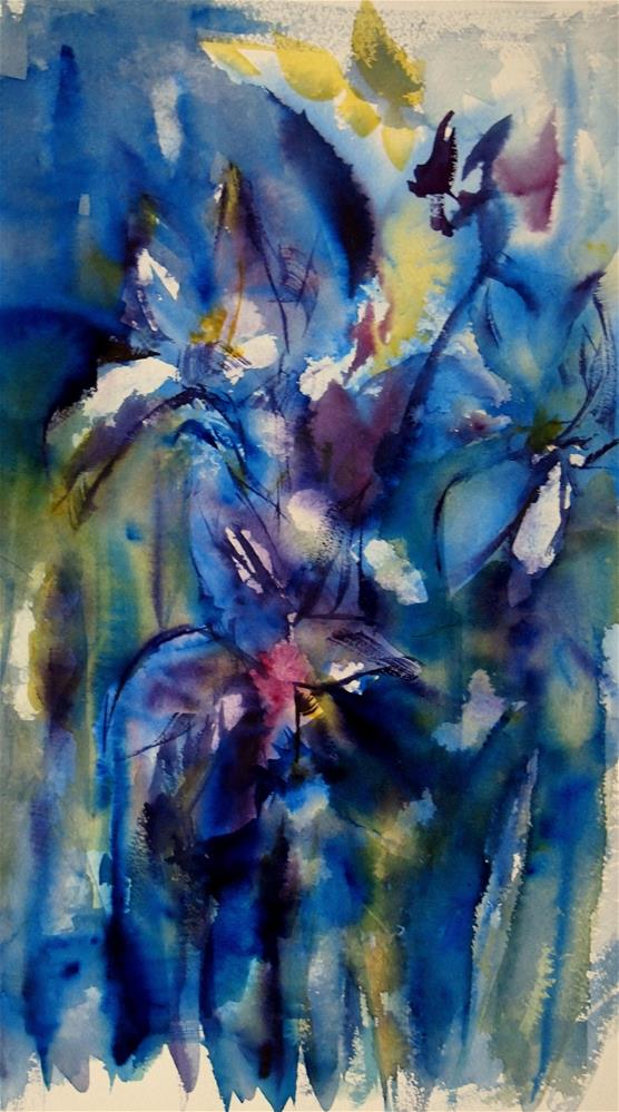 """Siberian Iris"" original fine art by Amy Bryce"