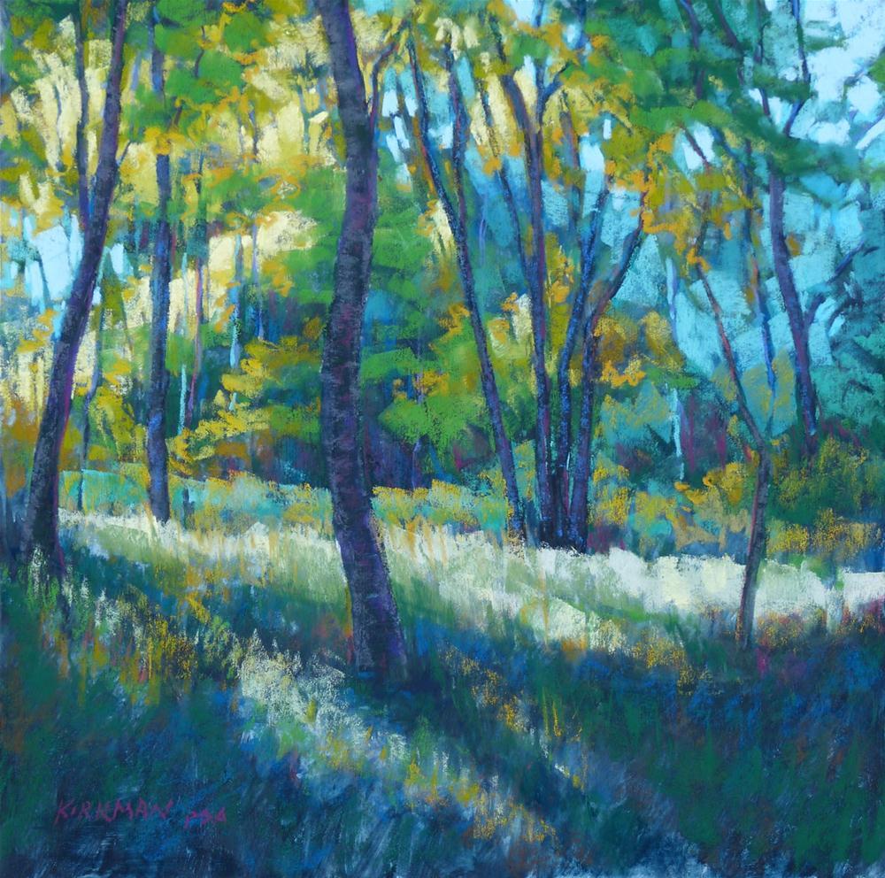 """Morning Glade"" original fine art by Rita Kirkman"