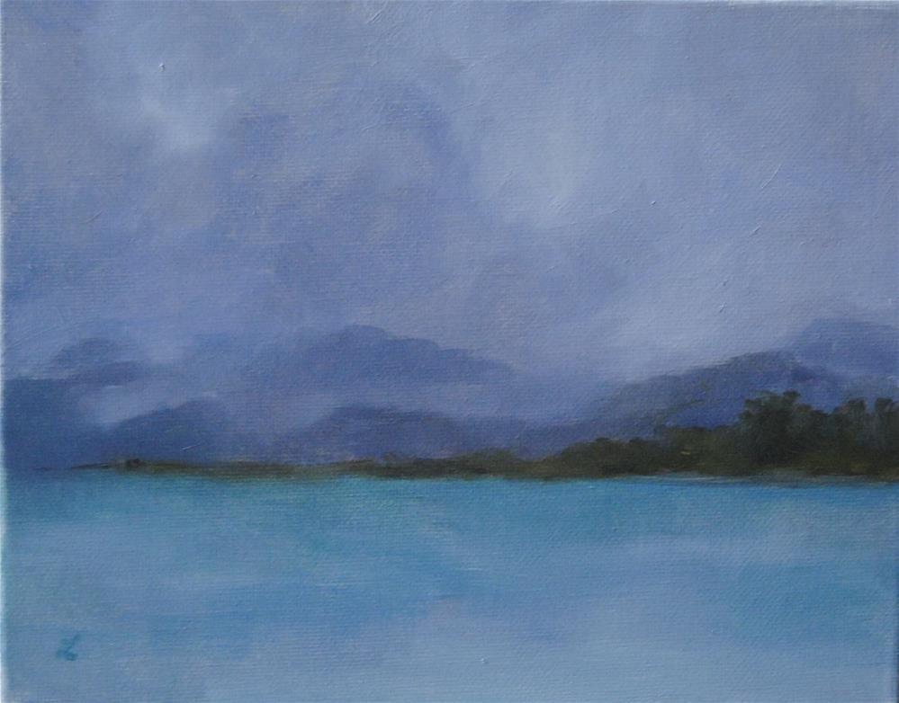 """Grey notes"" original fine art by Lori Jacobs - Farist"