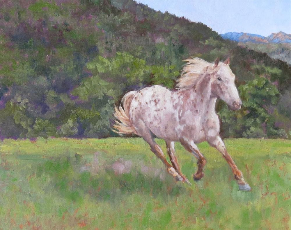 """Chief"" original fine art by Pam Holnback"