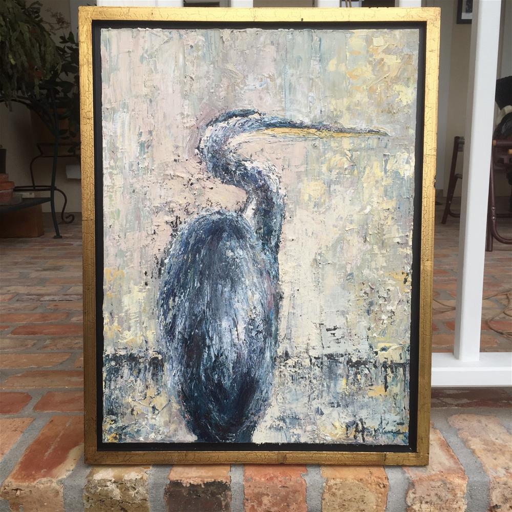 """Stalker, Framed"" original fine art by Denise Hopkins"