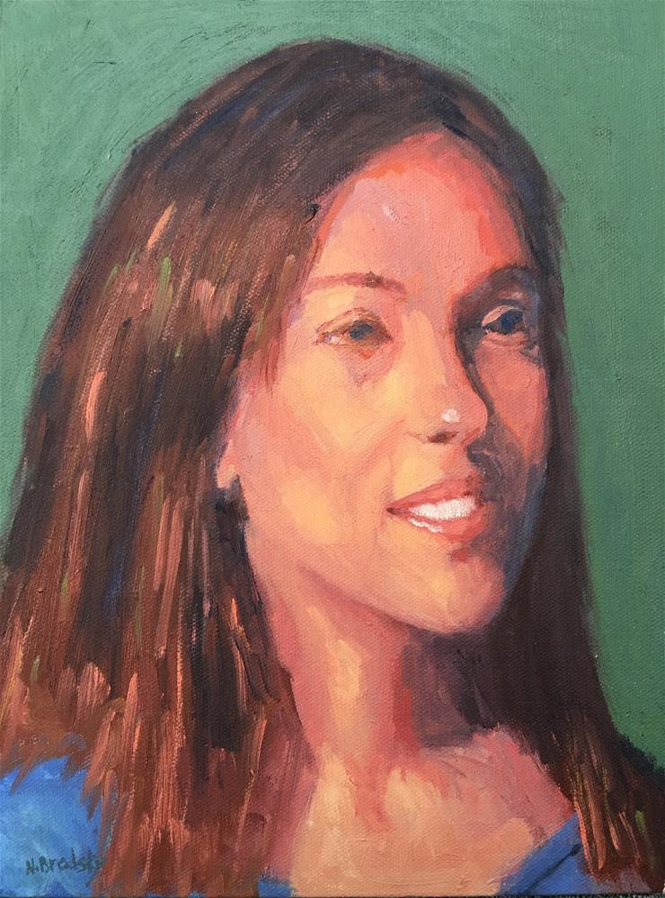 """Rachel"" original fine art by Nina Brodsky"