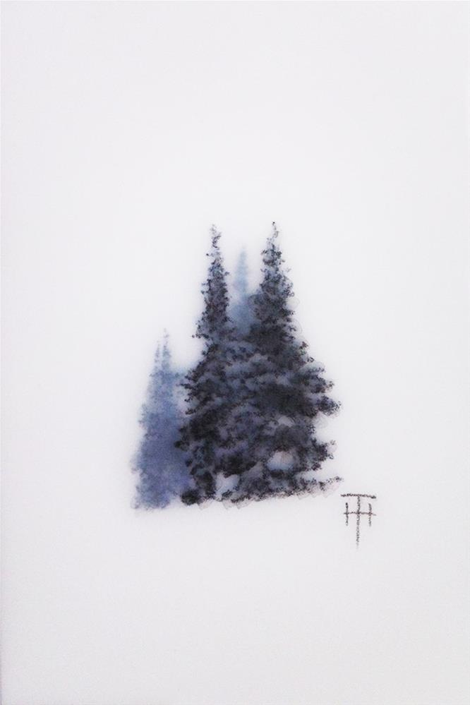 """Mountain Gems IV"" original fine art by Terri Heinrichs"