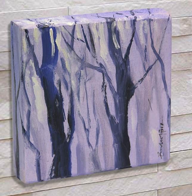 """""""bosque 5"""" original fine art by Emilio López"""