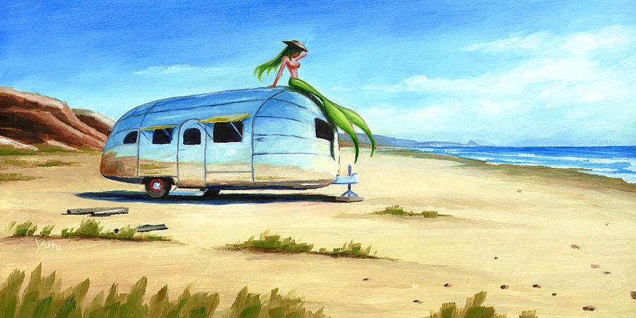 """Finders Keepers 9"" original fine art by Matt Yost"