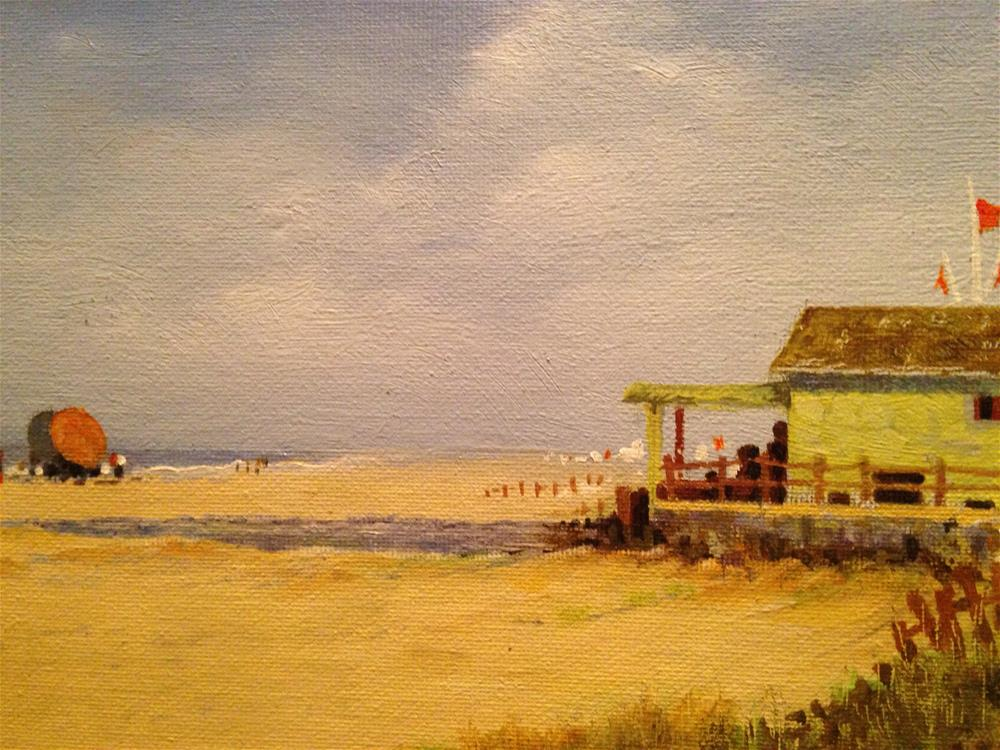 """Paradise beach"" original fine art by Frank and Liangni Nelson"