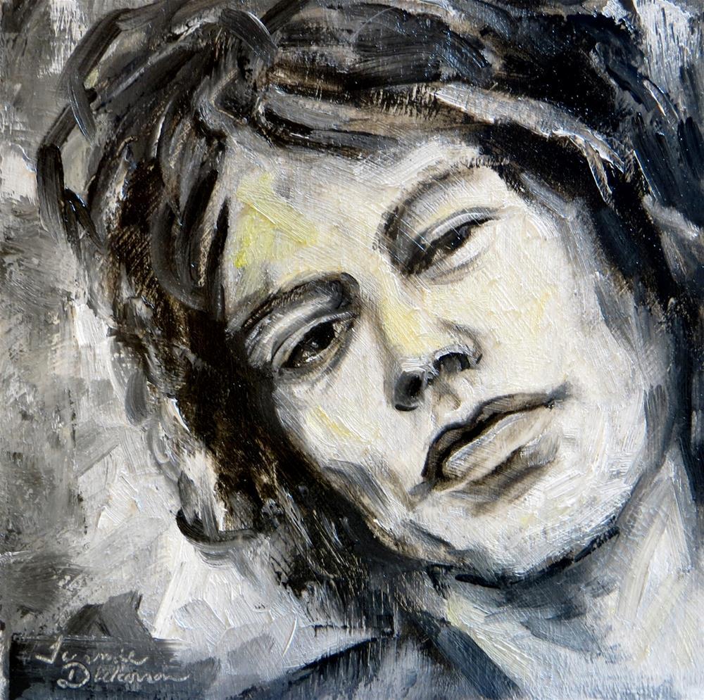 """Mick"" original fine art by Tammie Dickerson"