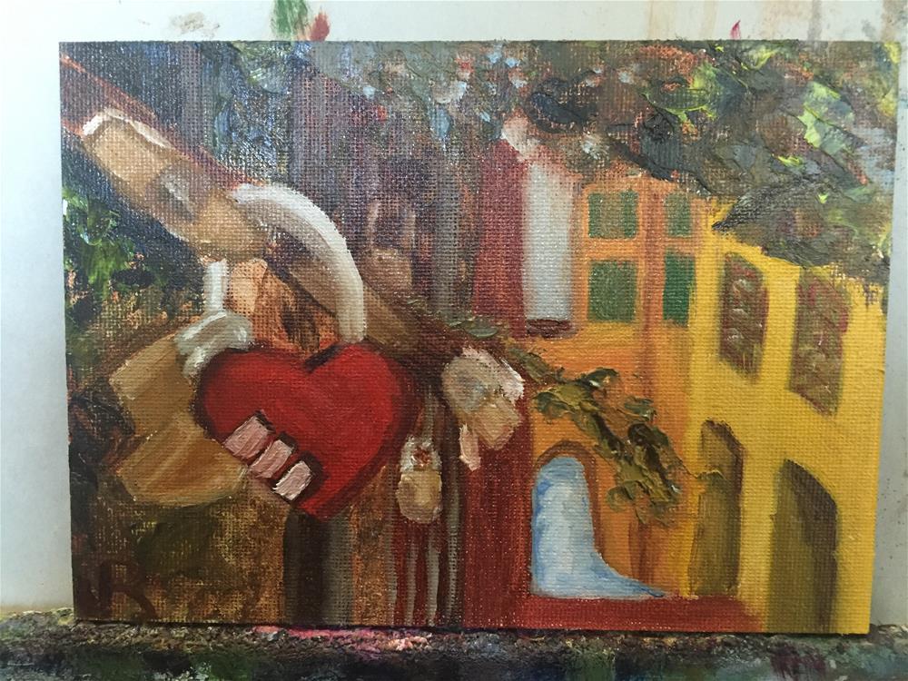 """""""Bologna Love"""" original fine art by Julie Ratcliff"""