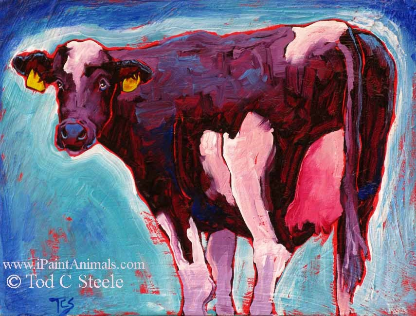 """""""Ooh La La - by Tod C Steele - 9x12"""" original fine art by Tod Steele"""