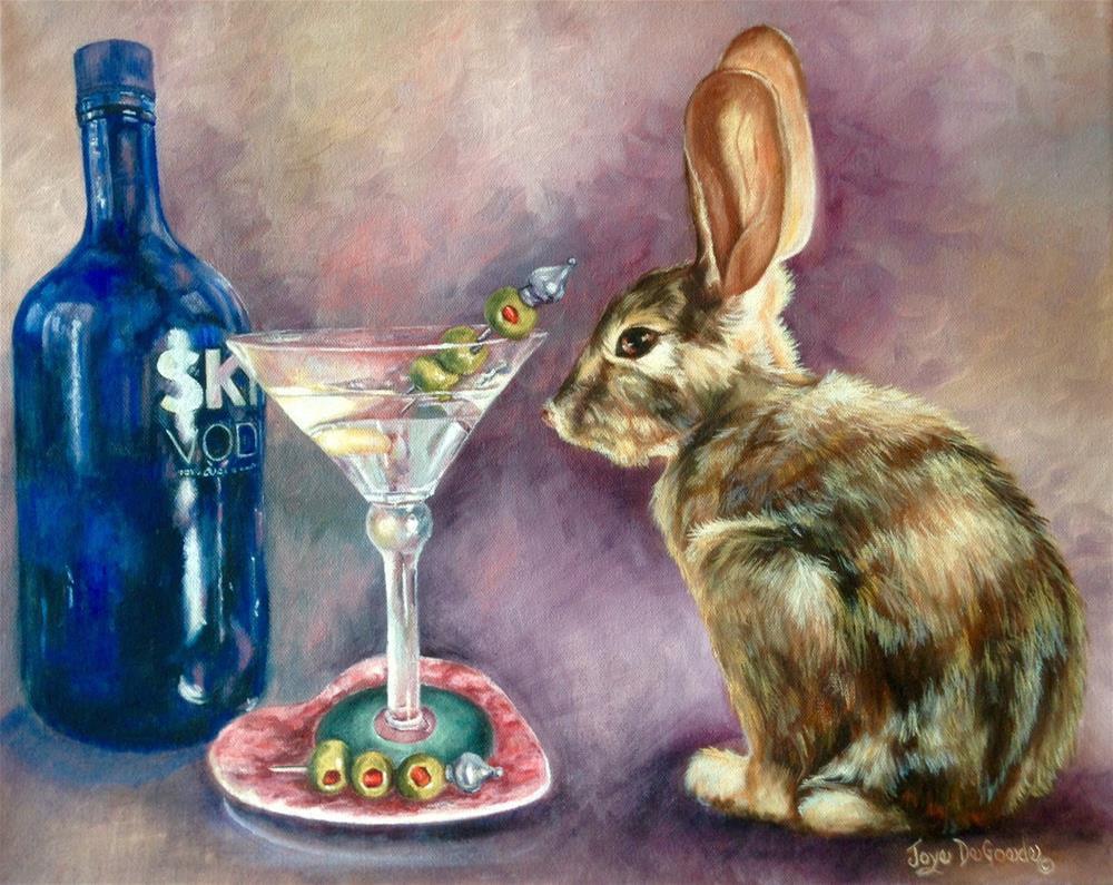 """""""Hoppy Hour (c) by Joye DeGoede"""" original fine art by Joye DeGoede"""