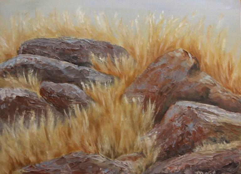 """If Rocks Could Talk"" original fine art by Mary Datum"