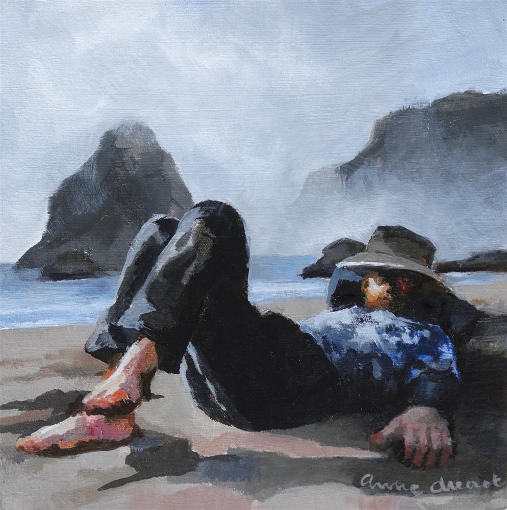 """The Nap"" original fine art by Anne Ducrot"