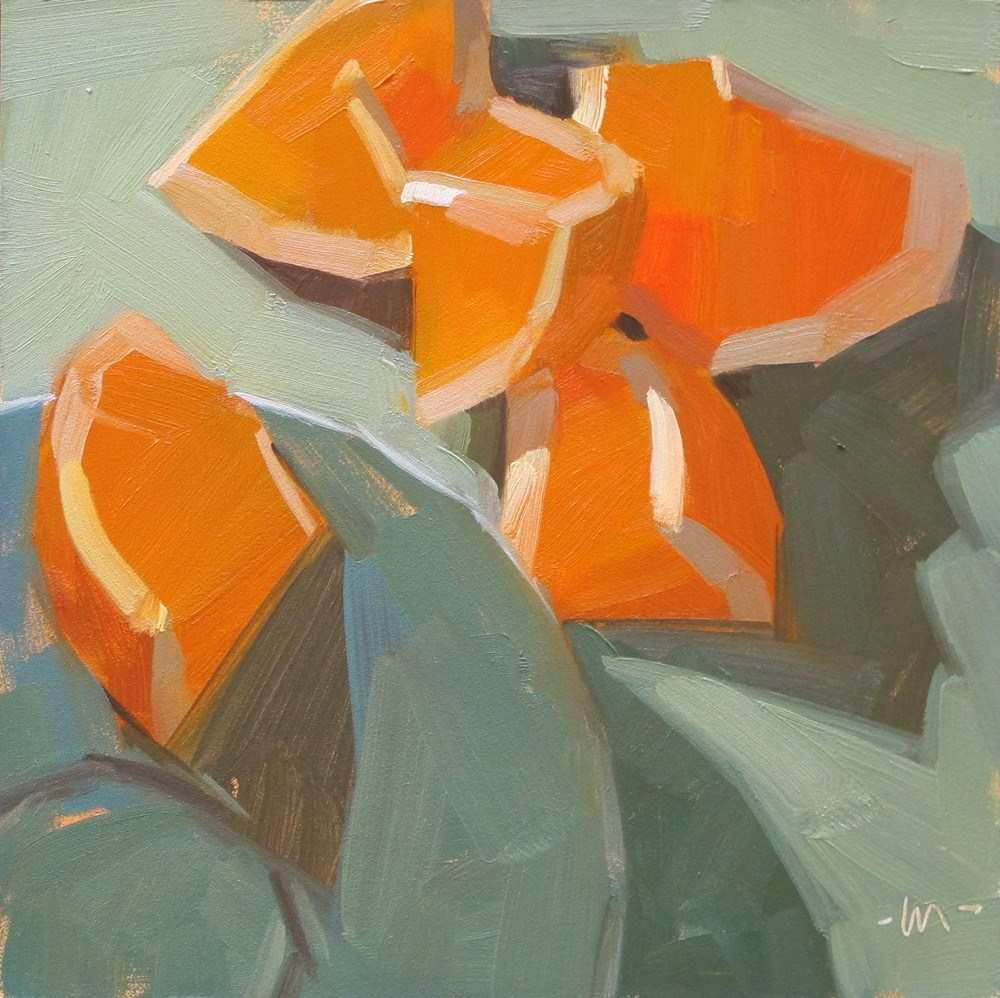 """The Water's Fine"" original fine art by Carol Marine"