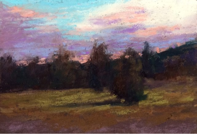 """TWILIGHT"" original fine art by Marti Walker"