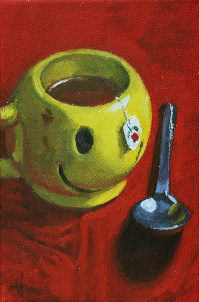 """Have a Nice Day, Matey"" original fine art by Ski Holm"