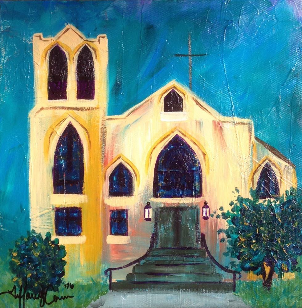 """Take me to Church"" original fine art by Tiffany Conn"