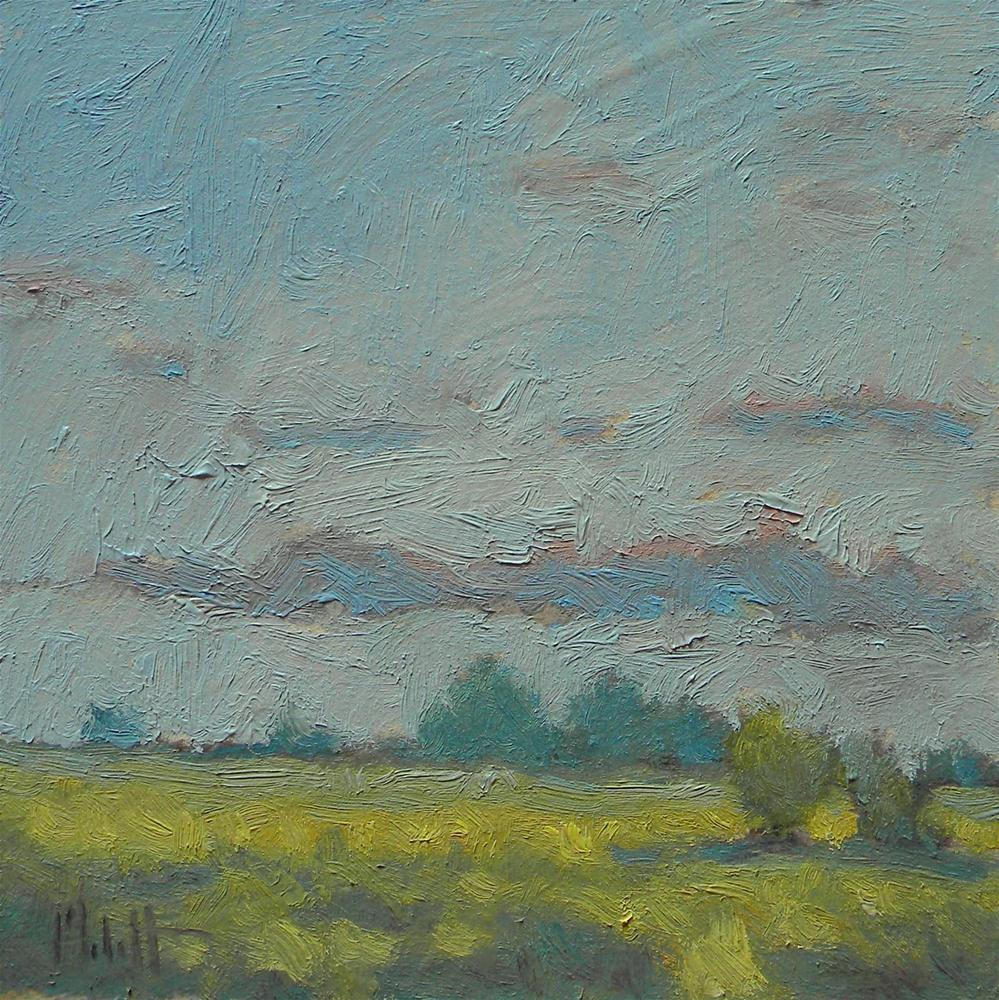 """Summer Meadow Impressionism Landscape Oil Painting"" original fine art by Heidi Malott"